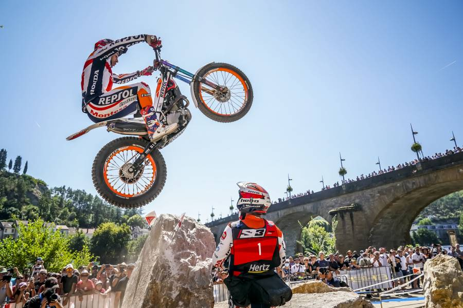 Toni Bou increases world championship lead after the French GP