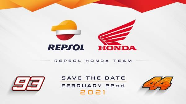 Repsol Honda Teamのチームローンチイベントを2/22に開催