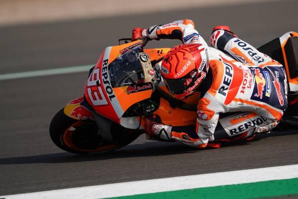 Marquez and Espargaro lead Honda charge at Aragon