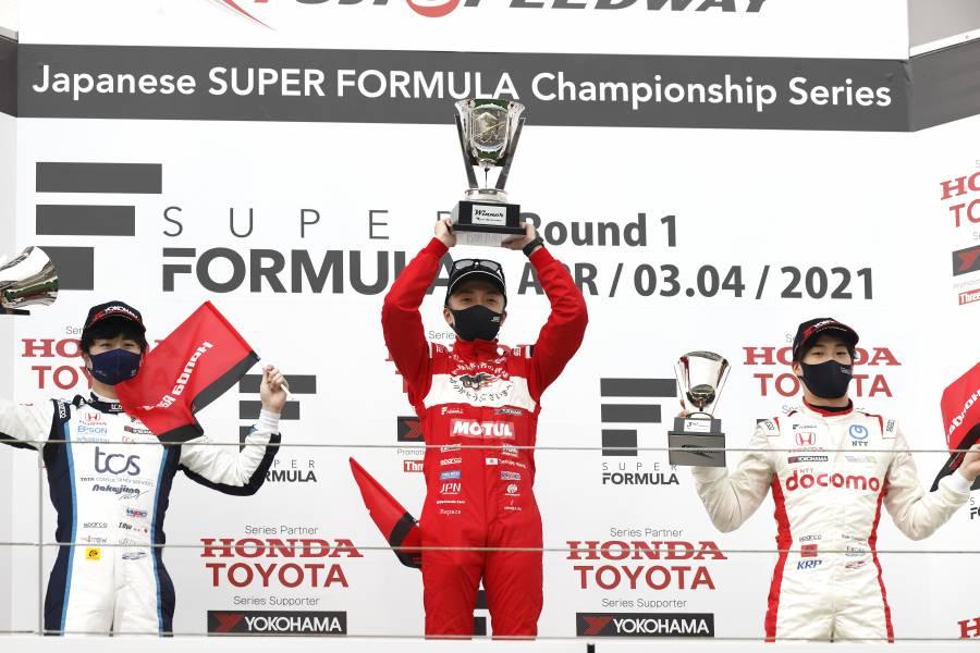 開幕戦富士スピードウェイ Honda勢が表彰台を独占