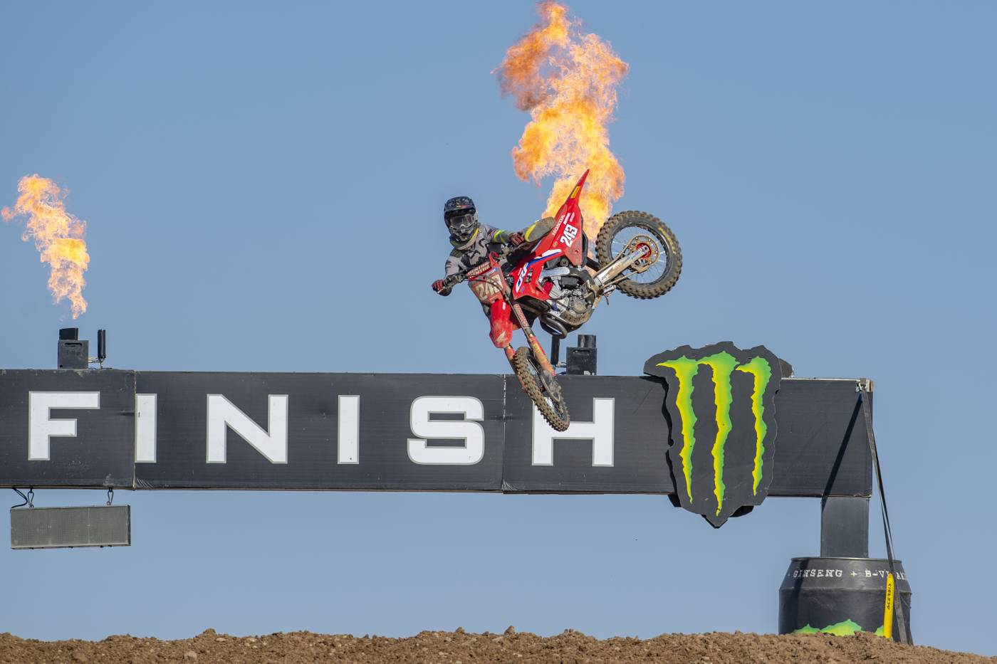 Tim Gajser leads the MXGP championship with an epic race two win in Turkey