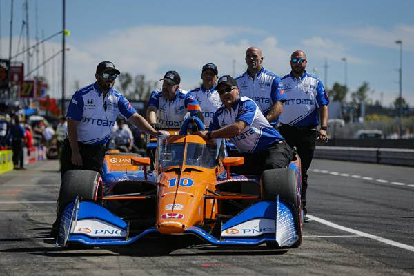 Palou Takes Honda to the Pole in Portland