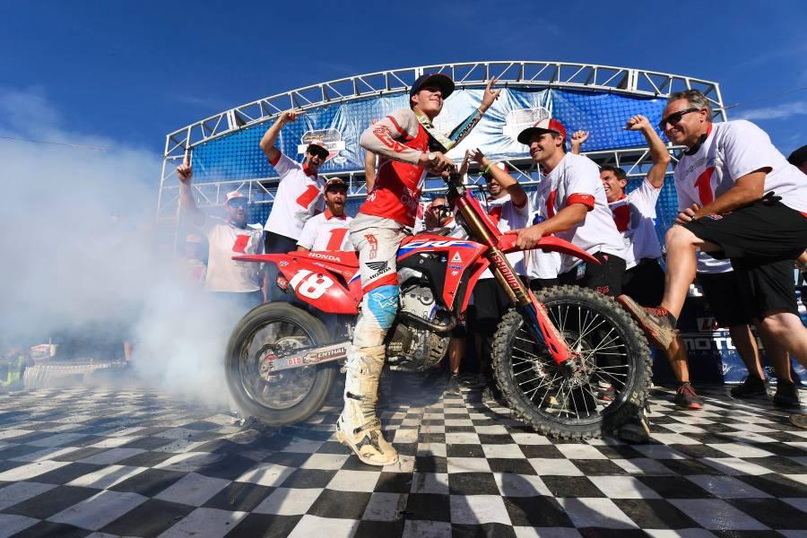 Jett Lawrence Secures AMA Pro Motocross 250MX Championship
