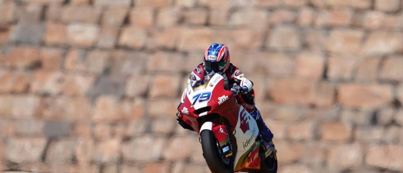 小椋が自身初ポールポジションを獲得したミサノに挑む