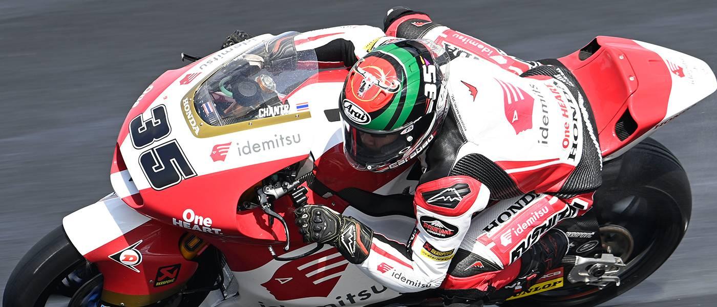 ソムキアット・チャントラが得意のウエットコンディションで4番手