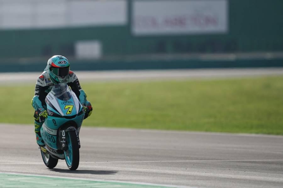ホームGPのデニス・フォッジャが初日トップ