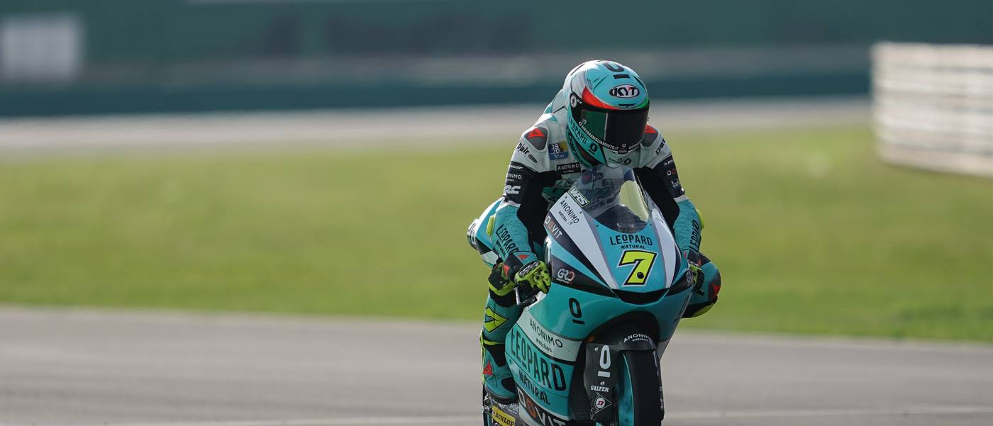 Foggia Ready to Fight from Misano Front Row