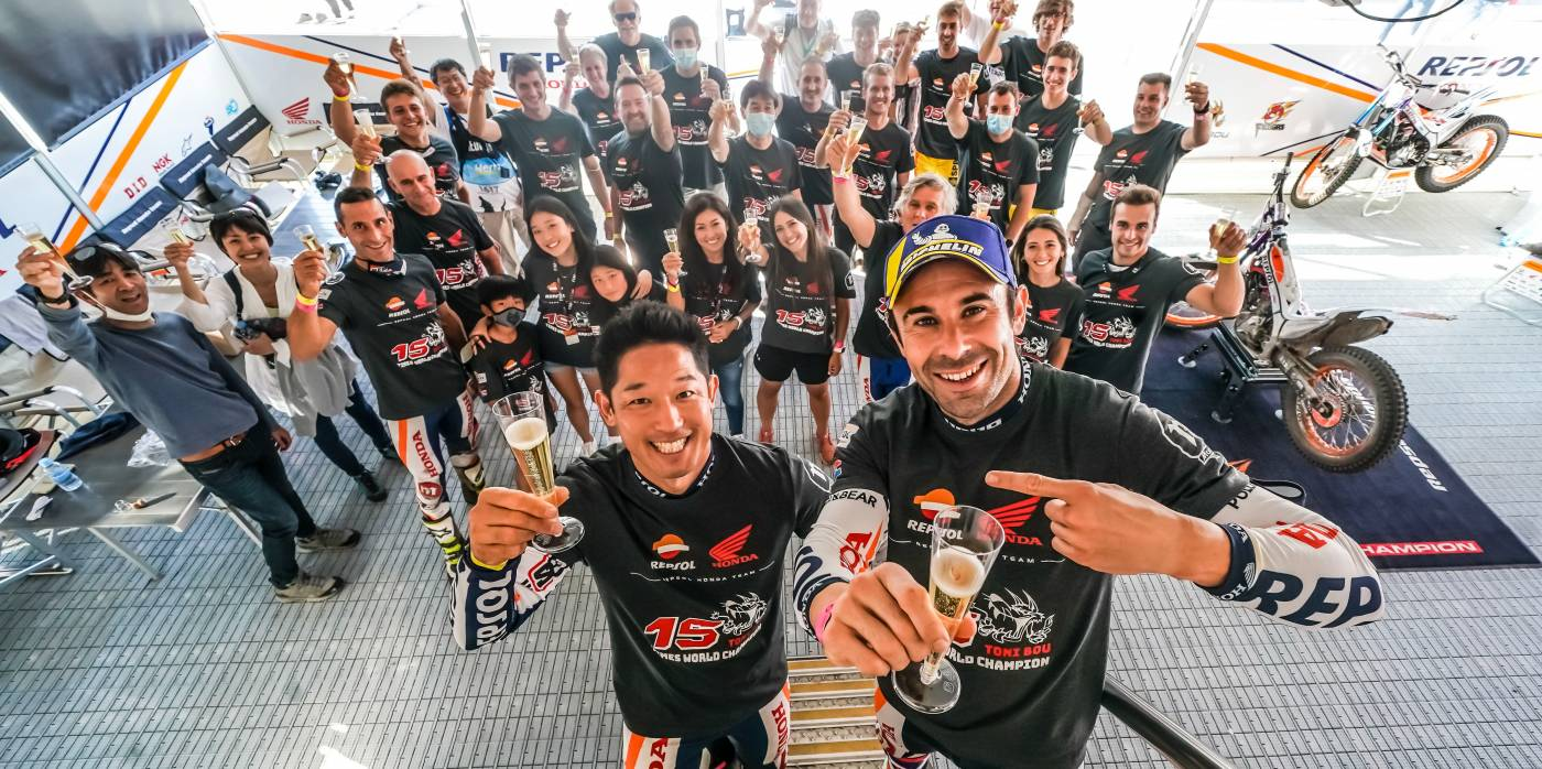 Toni Bou wins a 29th Trial World Championship title in Portugal