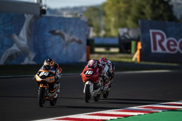 マリオ・アジ、サンマリノで8位入賞