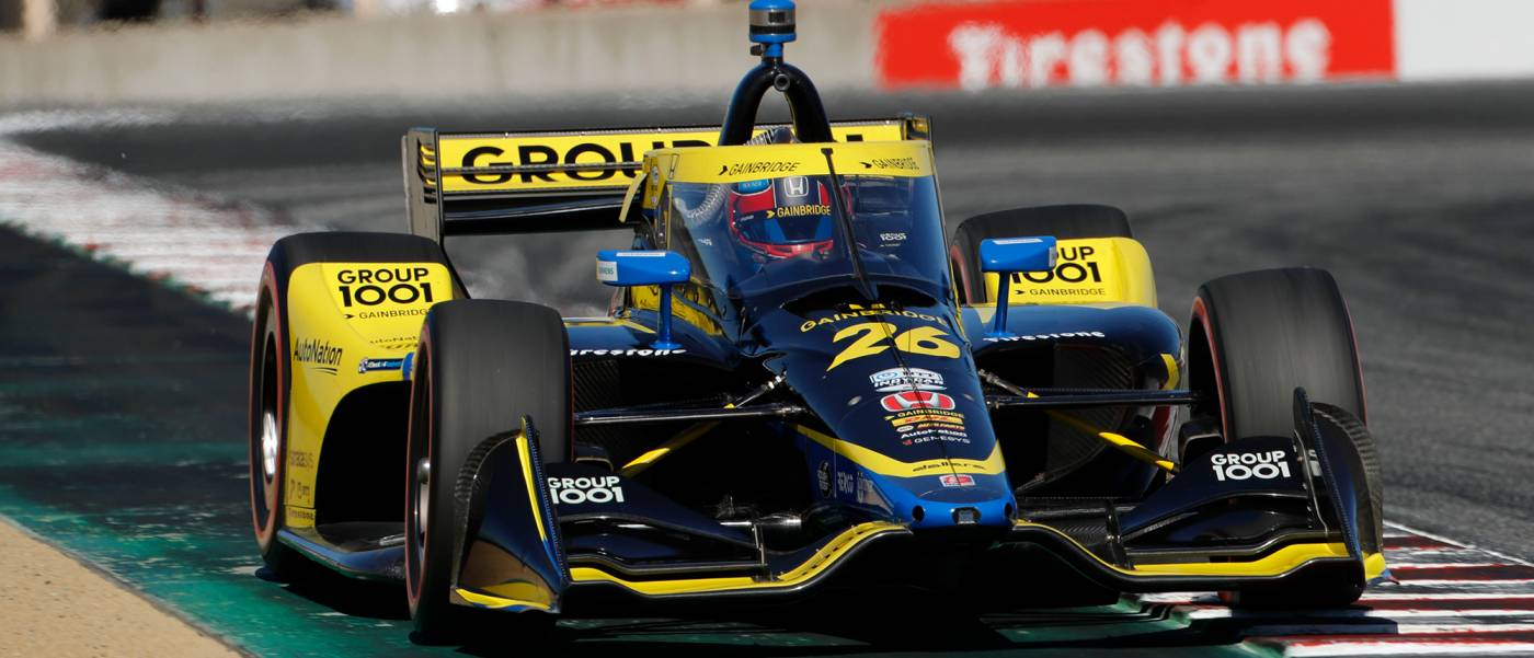 Colton Herta Earned His Third Pole of the Season