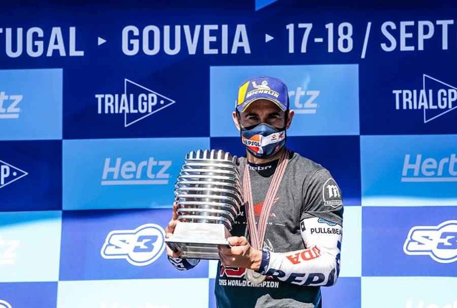 Toni Bou Wins 15th Consecutive FIM Trial World Championship Title