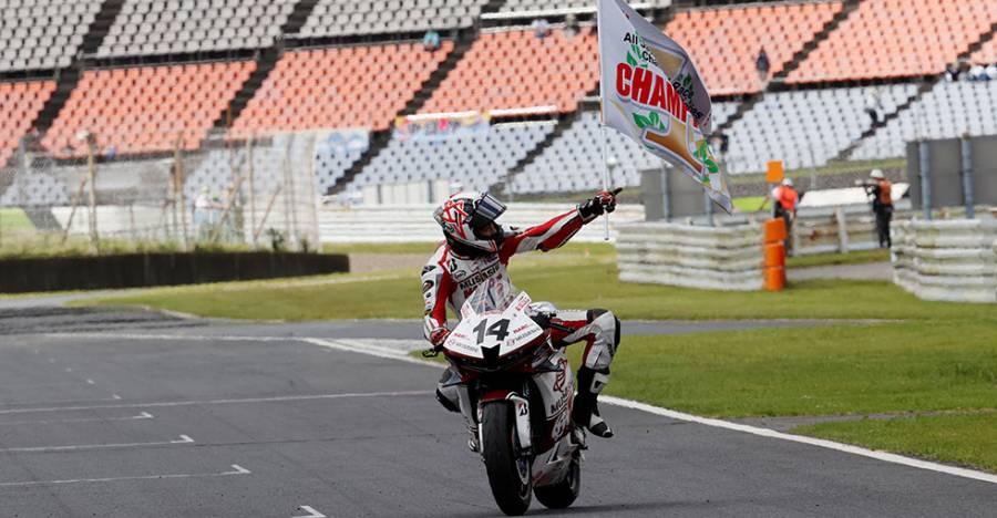 最終戦、小山知良が独走優勝。埜口遥希は自身初のシリーズチャンピオンに