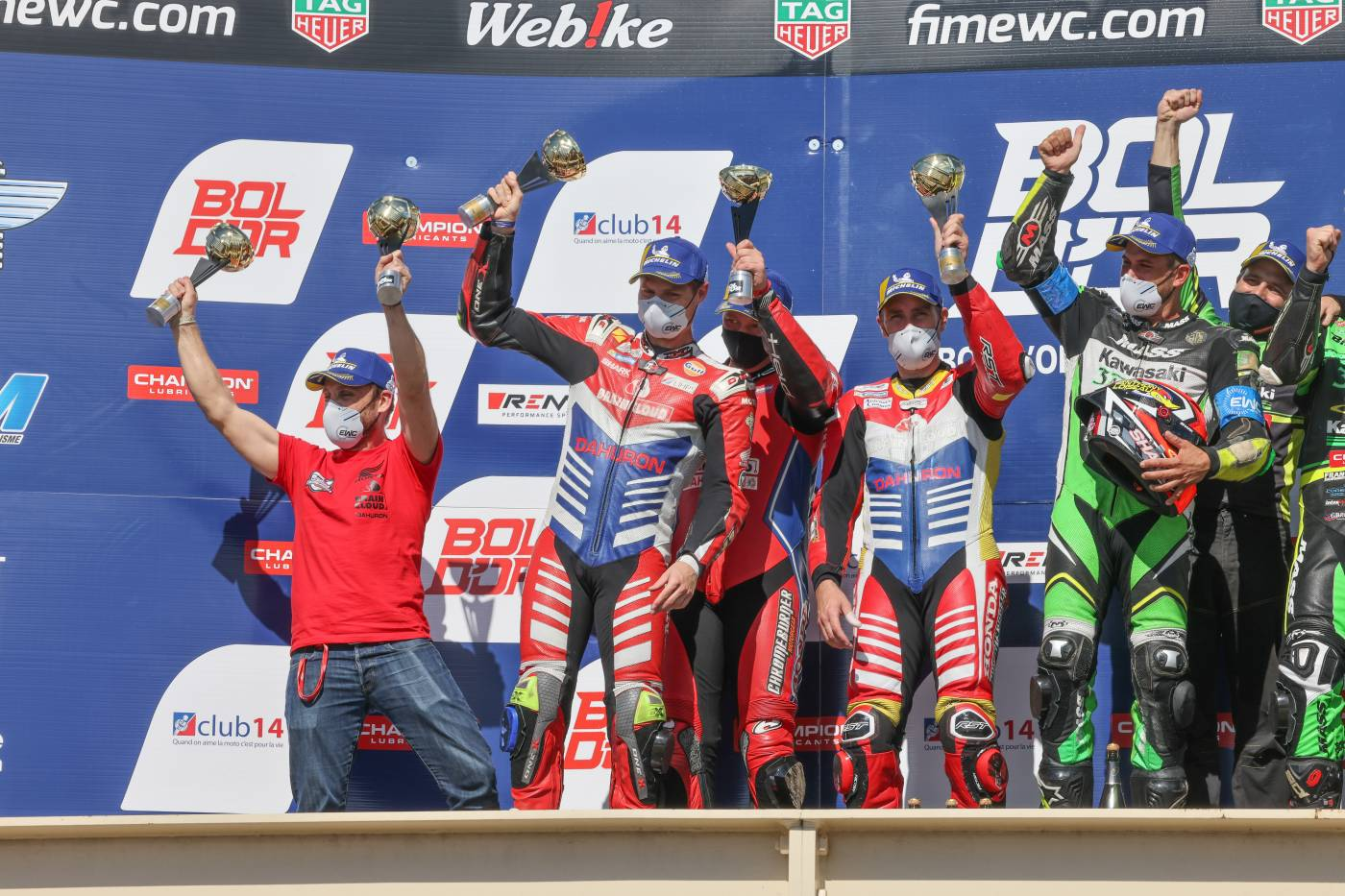 RAC 41 Chromeburner finishes second in Superstock and fourth overall at the Bol d'Or