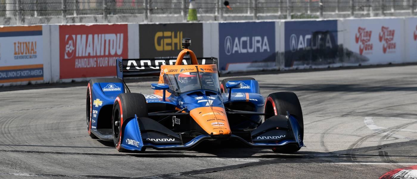 Front Row Start for Dixon, Honda at Acura Grand Prix of Long Beach