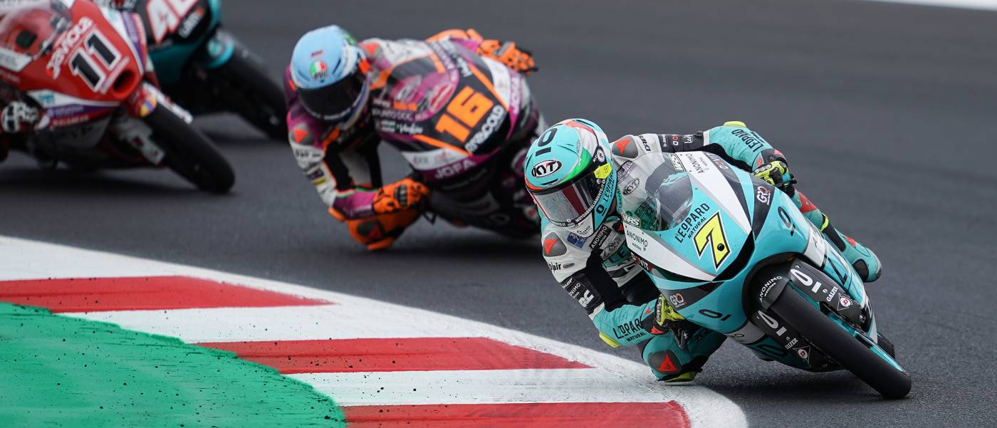 Foggia pushing hard in World Championship battle