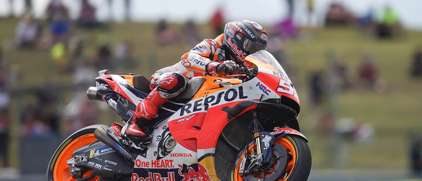 Marquez Scores First Front-row Start of 2021