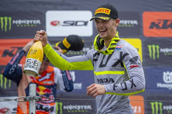 Gajser and Team HRC retake the MXGP Championship lead in Germany