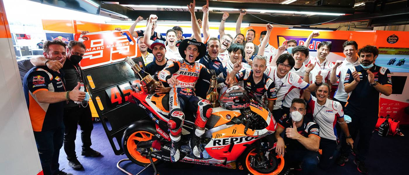 Marquez Rides to Majestic Second Win of 2021