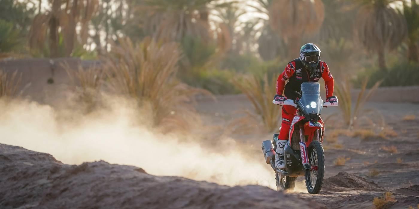 Monster Energy Honda Team reconvenes for the Rallye du Maroc