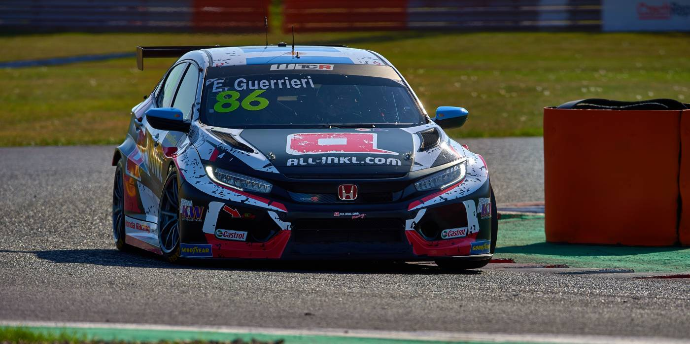 Split Most qualifying strategy yields rewards for Guerrieri and Girolami