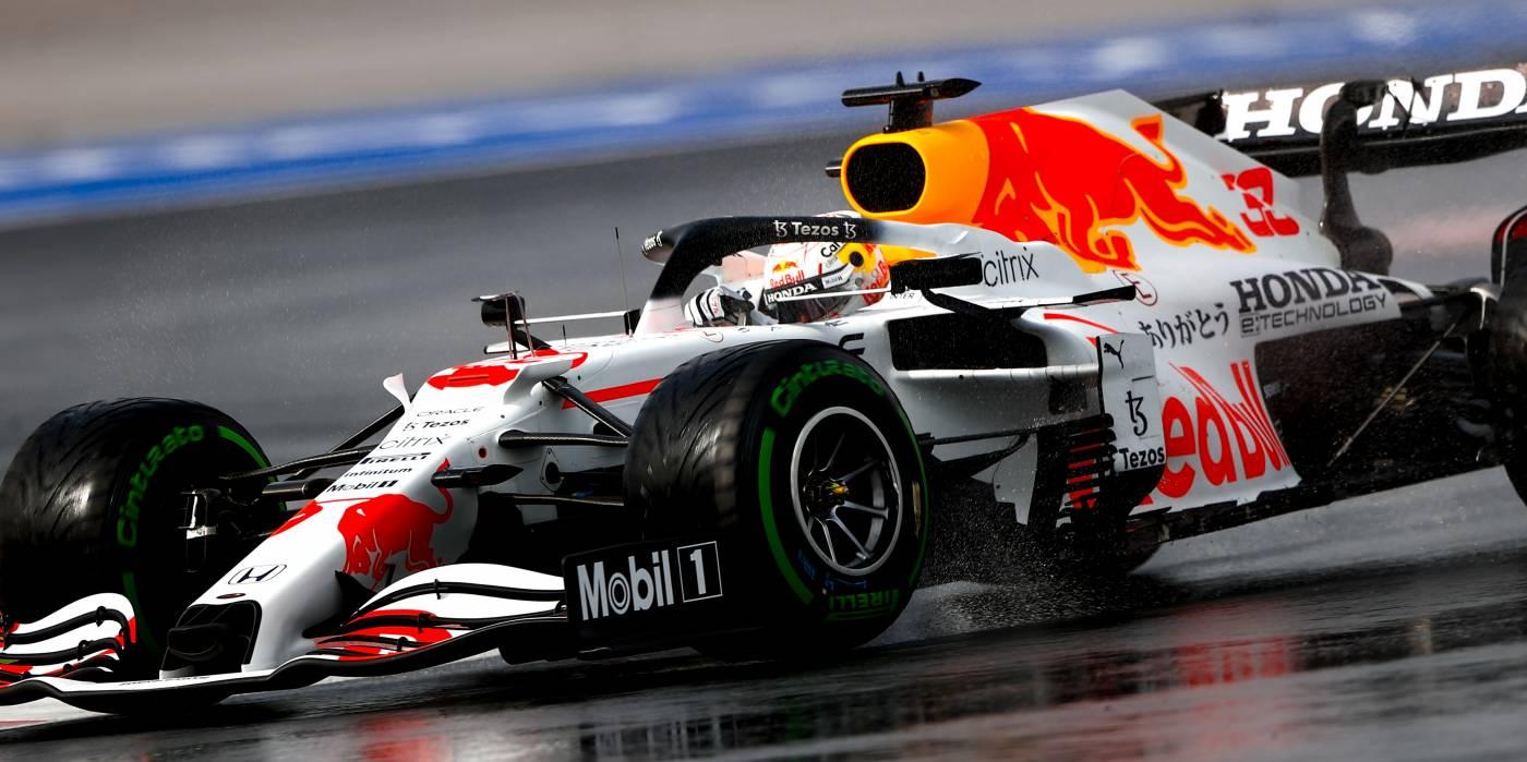 特別カラーのRed Bull Racing Hondaがダブル表彰台。フェルスタッペンはポイントリーダーに返り咲く