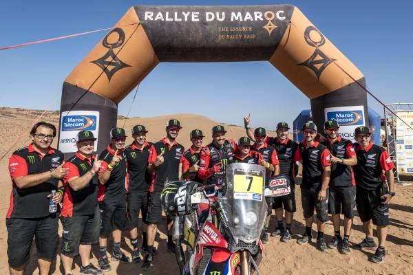 Pablo Quintanilla wins the Morocco Rally 2021