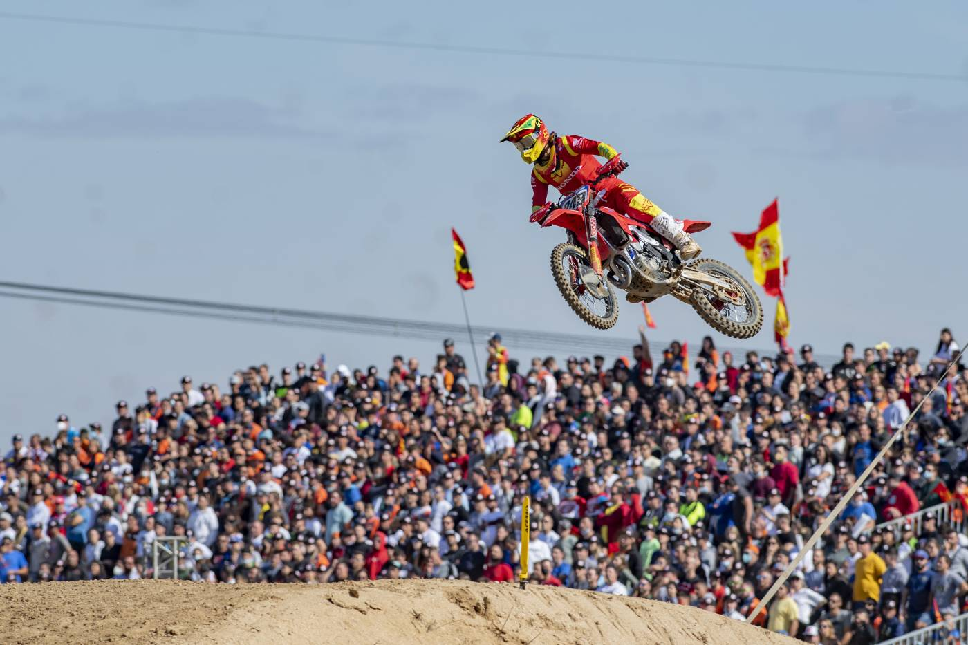 Another podium for Team HRC's Tim Gajser in Spain