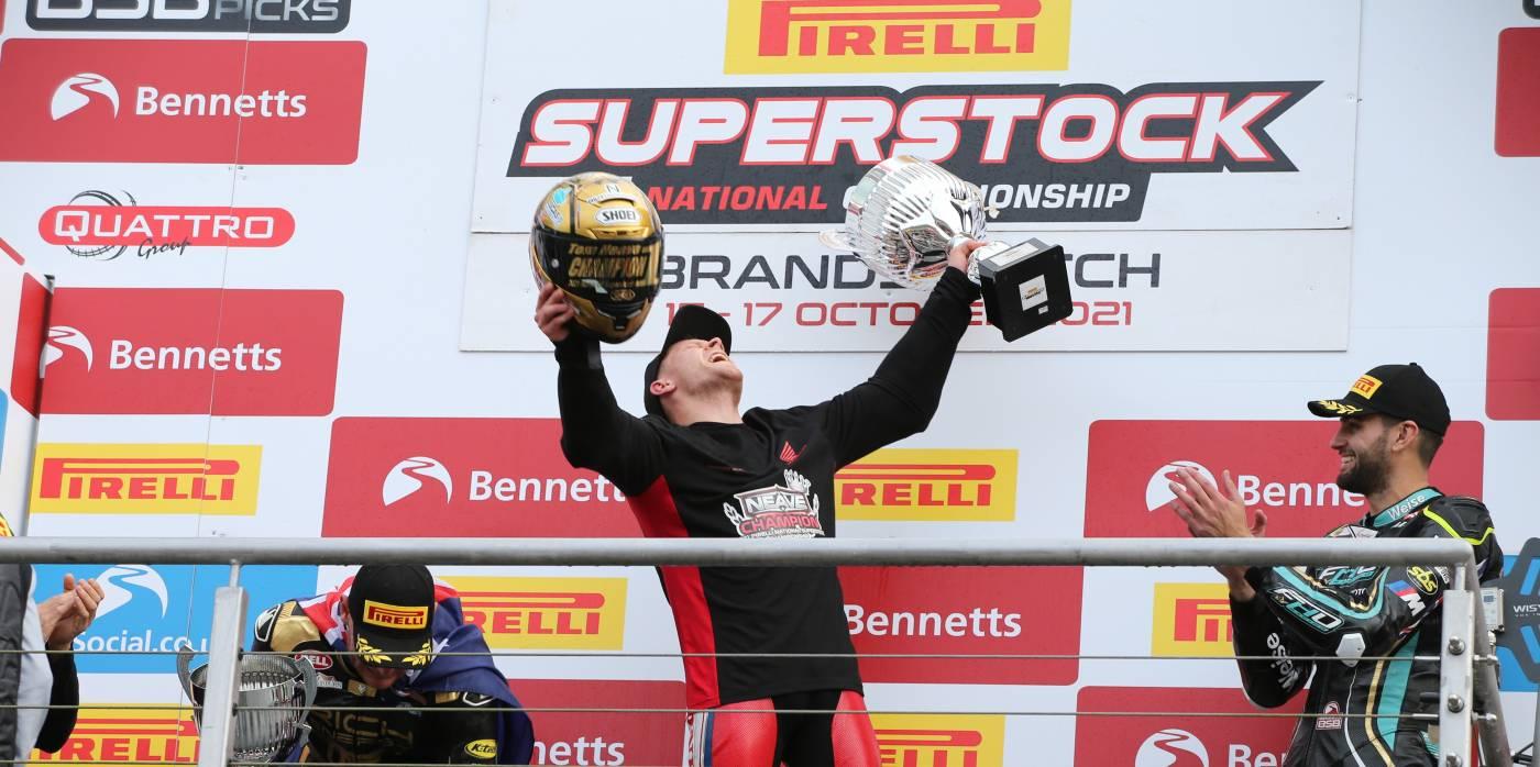 Celebrations at Brands Hatch for Honda Racing UK