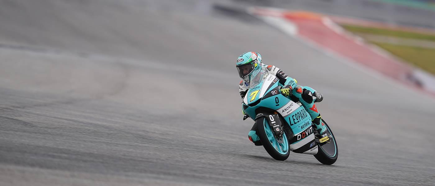 Foggia Takes Aim At Moto3 Title