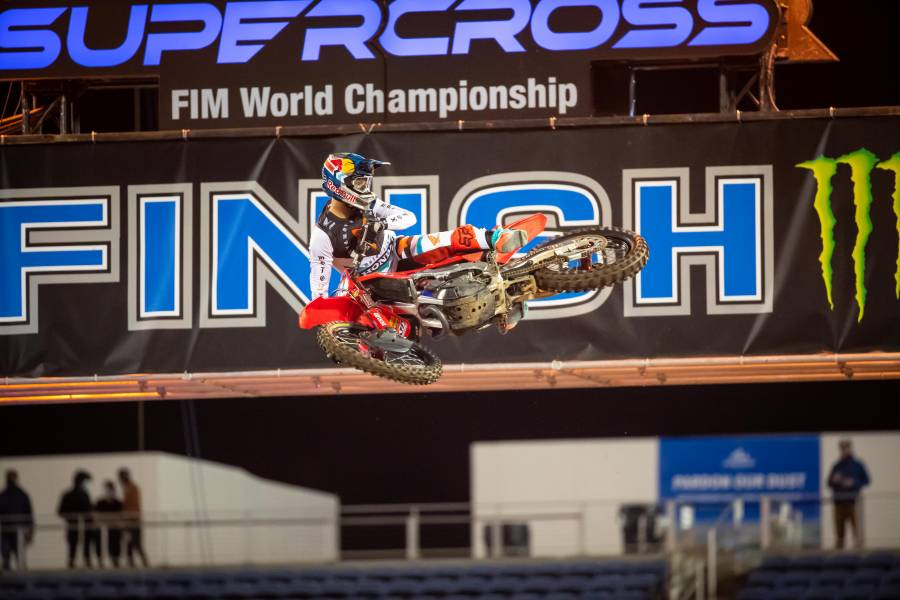 Top-Five Finishes for Ken Roczen, Hunter Lawrence at Orlando 2 Supercross