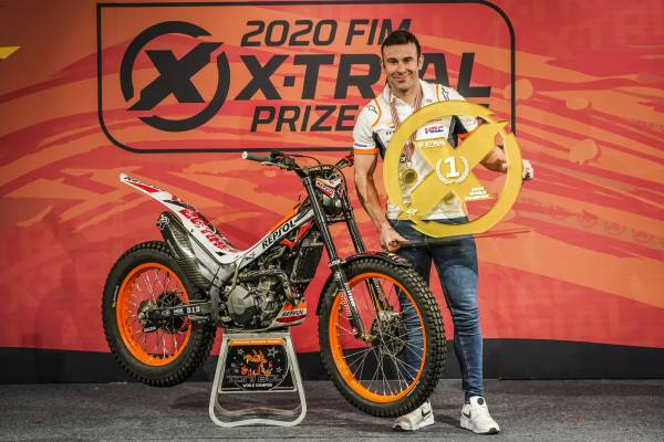 Toni Bou awarded the 2020 X-Trial title