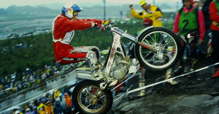 The Road To Making Honda's Challenge of Winning the Trial Championship a Reality - Second era 2-stroke (water-cooled / Pro-Link) Honda's Passion for Motor Sports Brings a New Golden Age