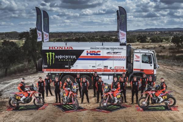 ダカールラリー2021で連覇を狙うMonster Energy Honda Team