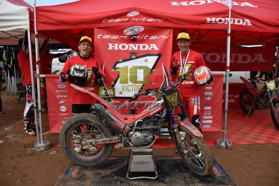 The Road To Making Honda's Challenge of Winning the Trial Championship a Reality - 3rd era 2nd generation (water-cooled / Pro-Link) Unparalleled revolutionary 4-stroke technology
