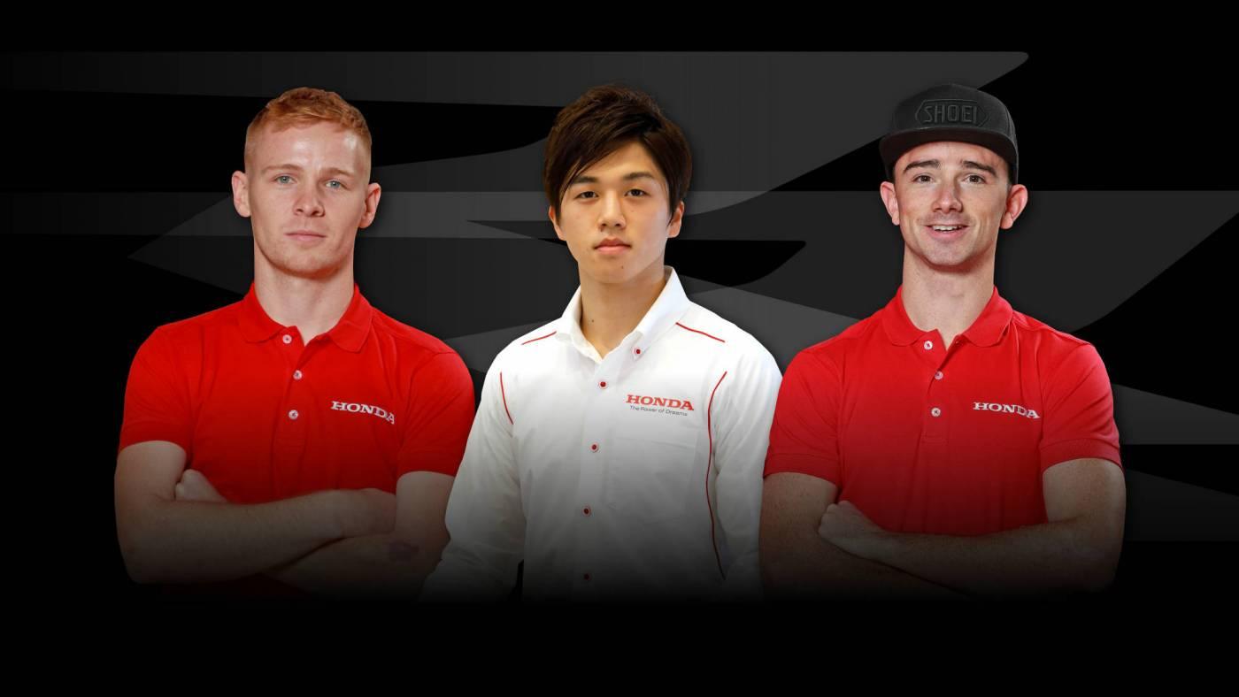 Hondaが英国スーパーバイク選手権の参戦体制を発表