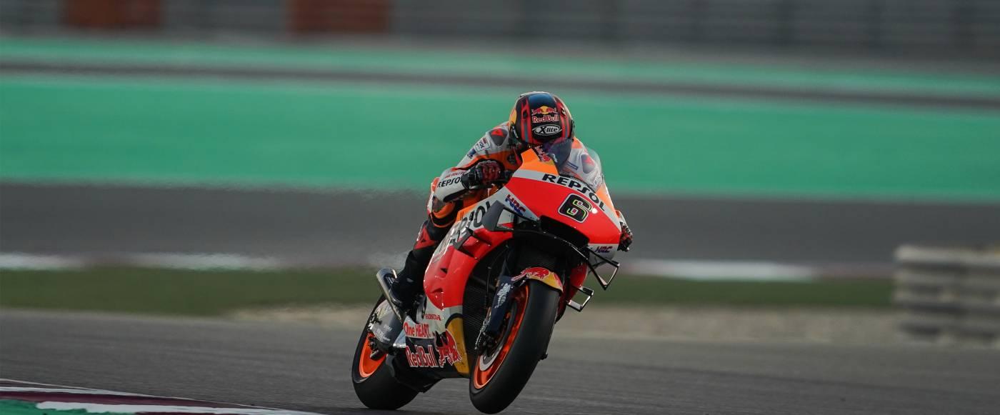 Honda Makes Positive Start to 2021 MotoGP Testing