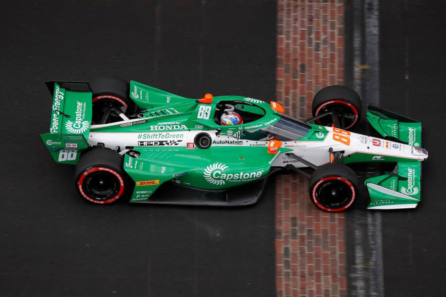 20-year-old Colton Herta wins fourth Indy race, moves up to third