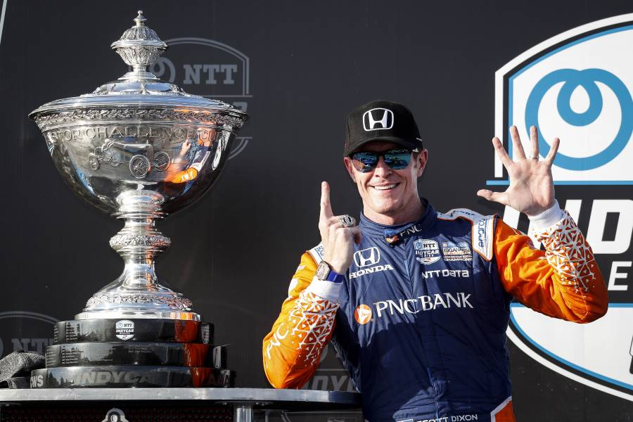 Scott Dixon one shy of record with sixth Indy title