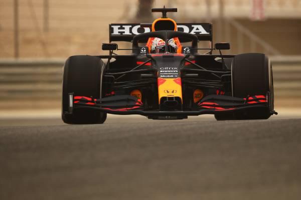 2021年の公式テストがスタート。Hondaパワーユニット勢は計250周を走破して初日を終える