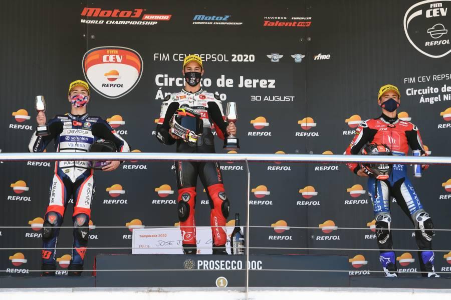 第4戦、レース2でシーズン初優勝したホセ・フリアン・ガルシア