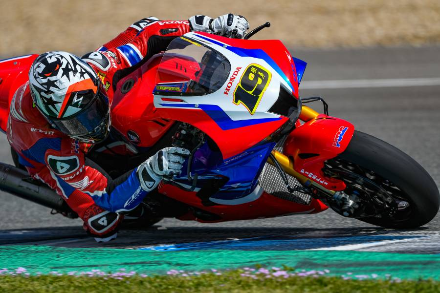 A fruitful testing session for Team HRC in ideal conditions at Jerez