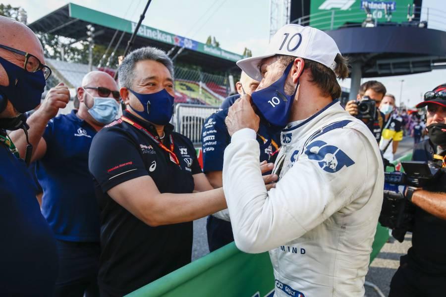 日本でのSF参戦時からHondaエンジンで走るガスリーが節目のレースで見事に優勝