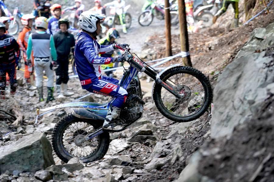 最終戦で2位に入り、ランキング2位を決めた村田慎示選手の走り