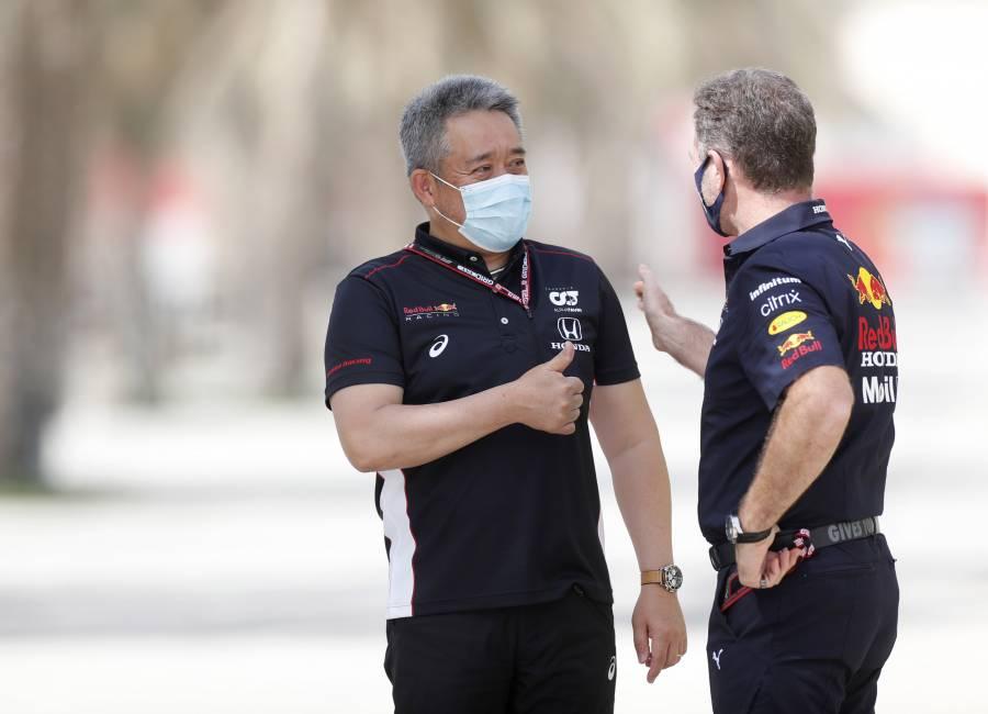 山本MDとRed Bull Racing Hondaのホーナー代表