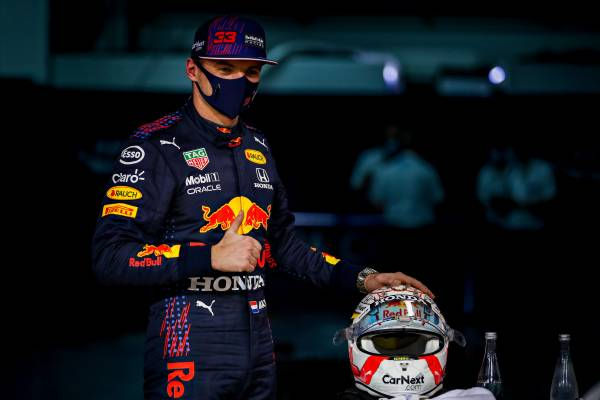 Verstappen Takes POLE In Bahrain For Honda Power