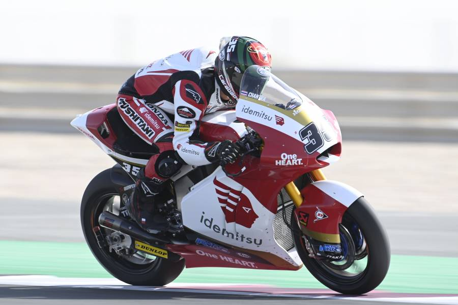 Chantra and Ogura Shine in Moto2 Qualifying Sessions in Qatar
