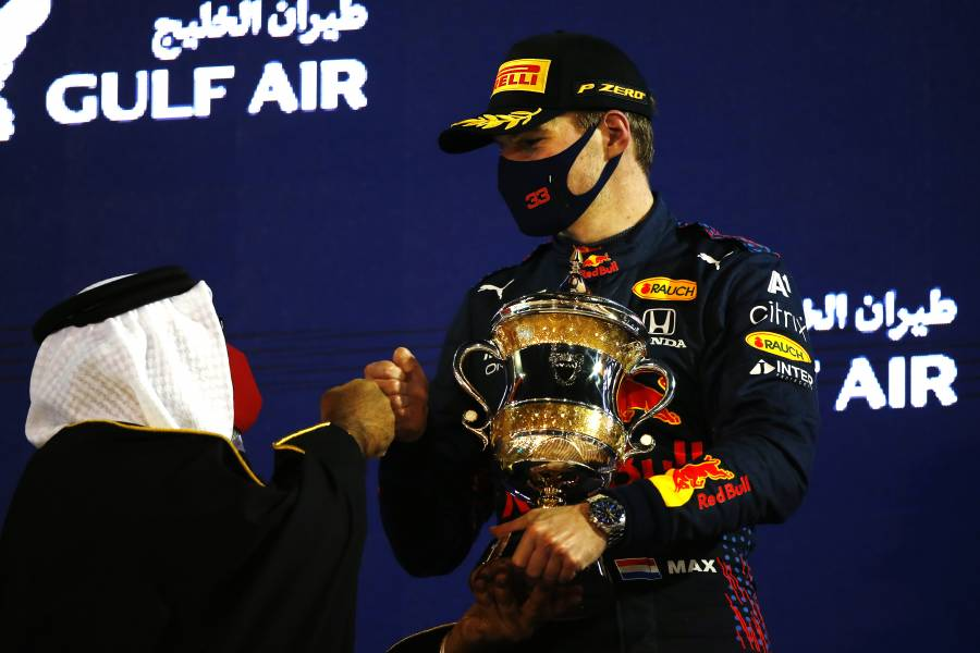 A 200th Podium For Honda In F1, As Max Finishes P2 In Bahrain