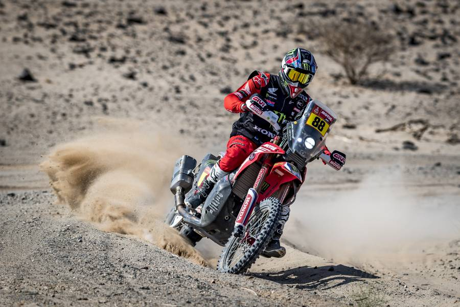 Stage four provides Joan Barreda with a second victory in the 2021 Dakar