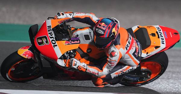 Bradl leads the Honda charge at Losail