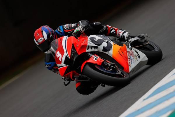 濱原颯道がレース2で3位表彰台を獲得